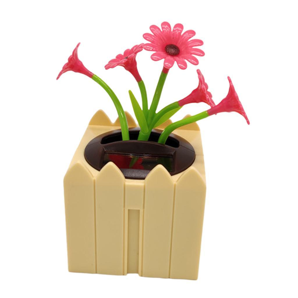 Cute-Dancing-Shaking-Swing-Flower-Blossom-Flowery-Bonsai-Toys-Office-Decor thumbnail 9