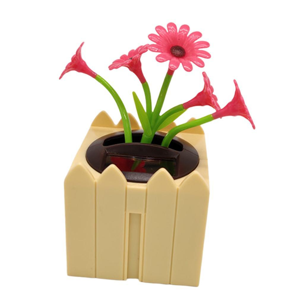 Cute-Dancing-Shaking-Swing-Flower-Blossom-Flowery-Bonsai-Toys-Office-Decor thumbnail 10