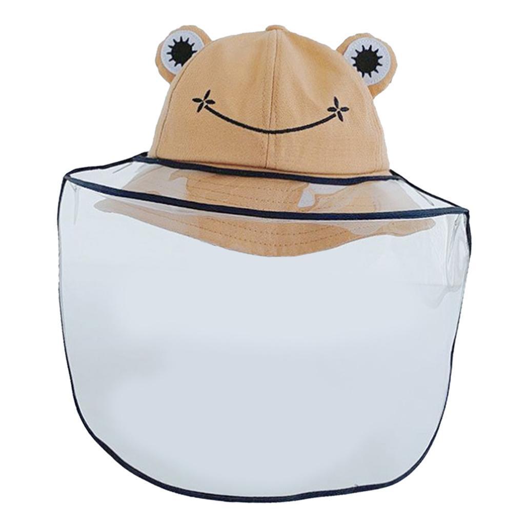 Baby-Transparent-Face-Shield-Anti-Spitting-Hat-Dust-Sun-Protective-Fishman-Caps thumbnail 15