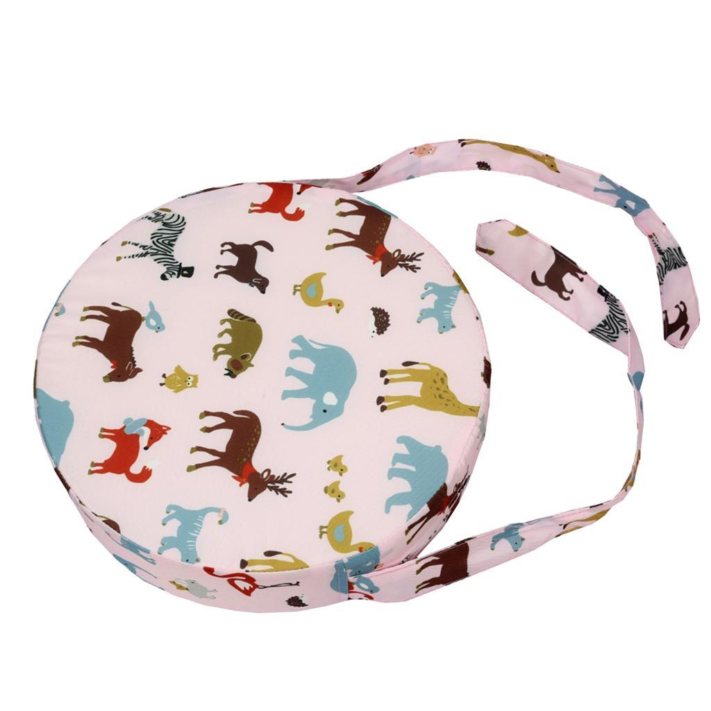 thumbnail 47 - Perfect Kids Toddler High Chair Seat Pad Safe Booster Dining Cushion Adjustable