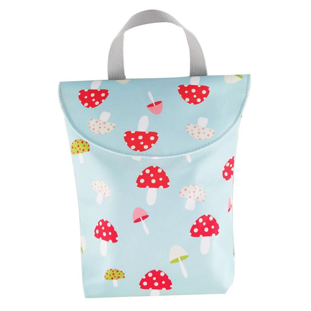 Baby-Diaper-Bag-Organizer-Fashion-Prints-Mummy-Storage-Bag-Outdoor-Reusable miniature 21