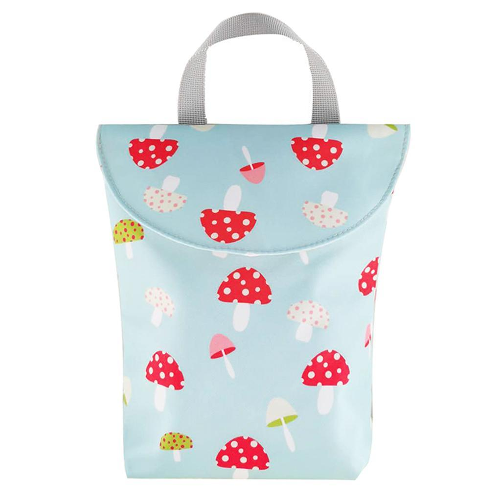 Baby-Diaper-Bag-Organizer-Fashion-Prints-Mummy-Storage-Bag-Outdoor-Reusable miniature 22