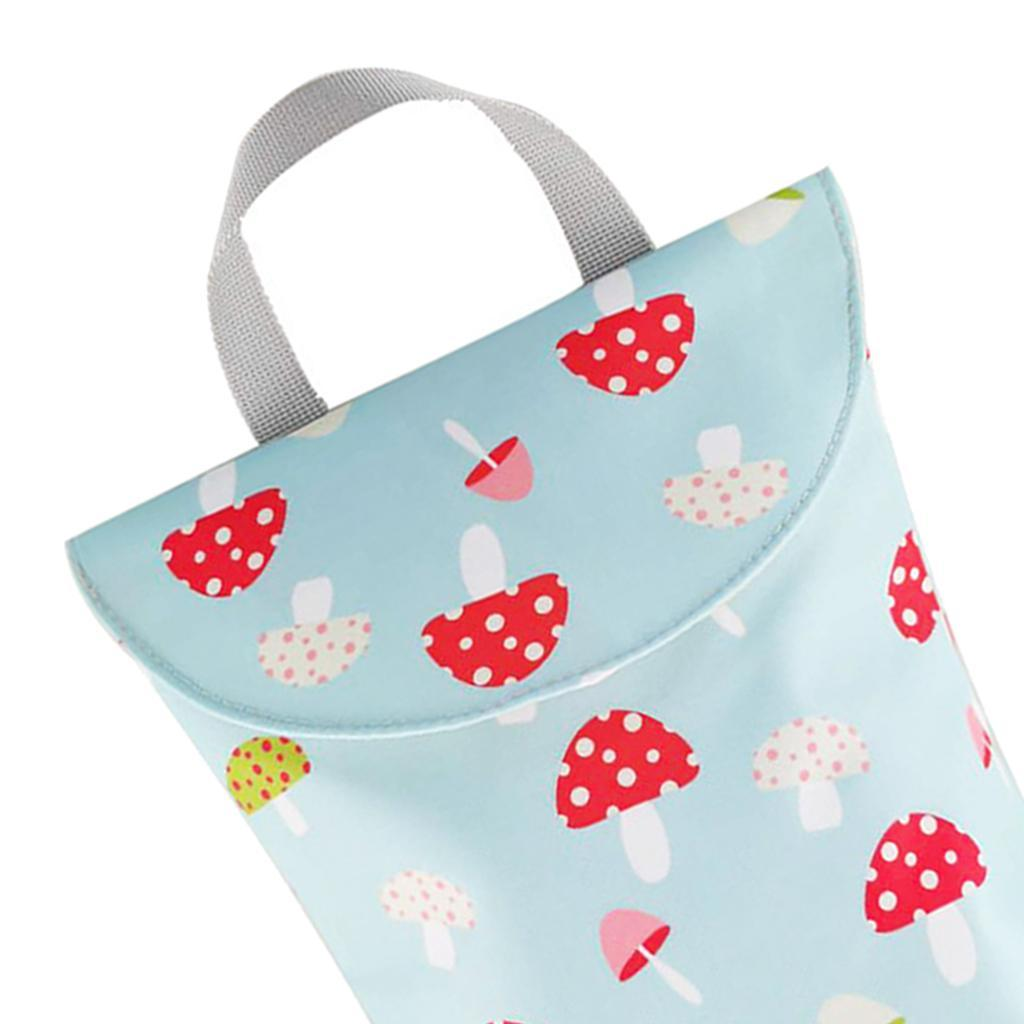 Baby-Diaper-Bag-Organizer-Fashion-Prints-Mummy-Storage-Bag-Outdoor-Reusable miniature 23
