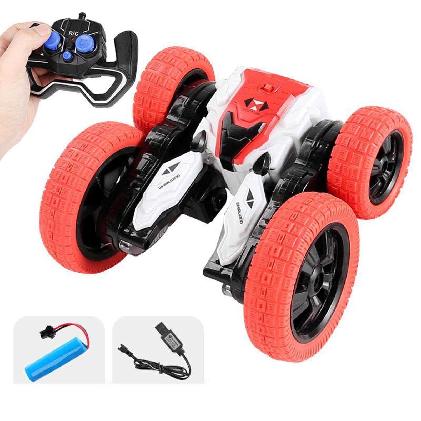 miniatura 35 - Telecomando Auto Stunt Car Giocattolo Per Bambini 2.4GHz di Controllo Remoto