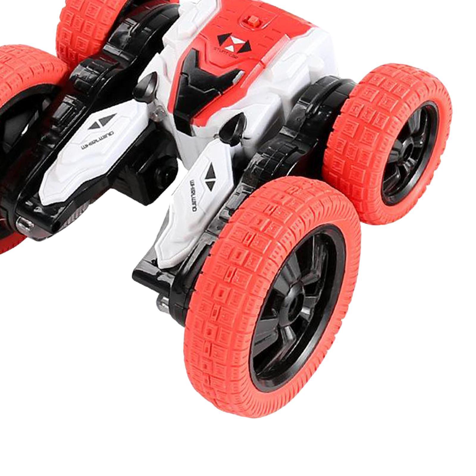 miniatura 34 - Telecomando Auto Stunt Car Giocattolo Per Bambini 2.4GHz di Controllo Remoto