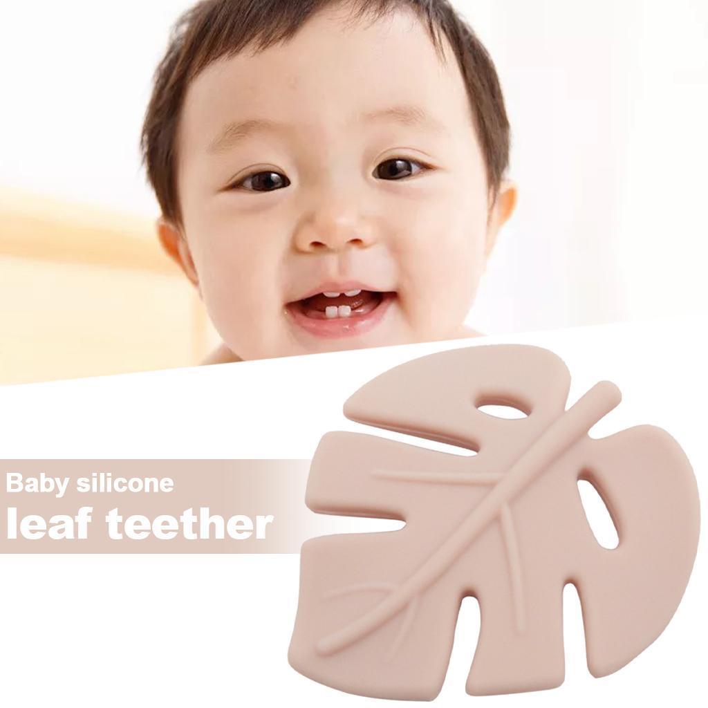 miniatura 8 - 1pc Silicone Baby Teethers Dentizione Giocattolo Masticabile per Neonato