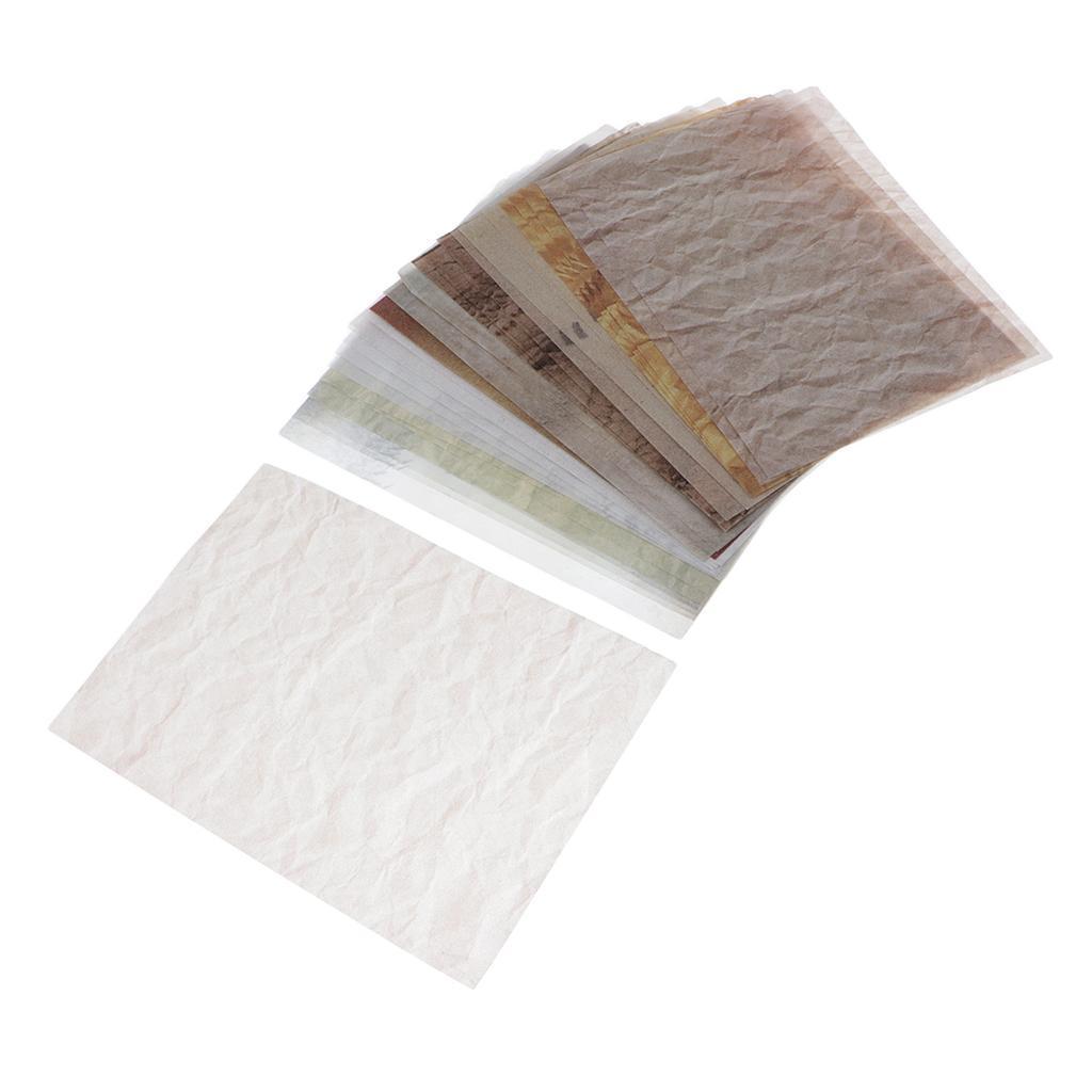 15-30pcs-Hintergrundpapier-Handgefertigt-fuer-Kartenherstellung-Schreiben Indexbild 12
