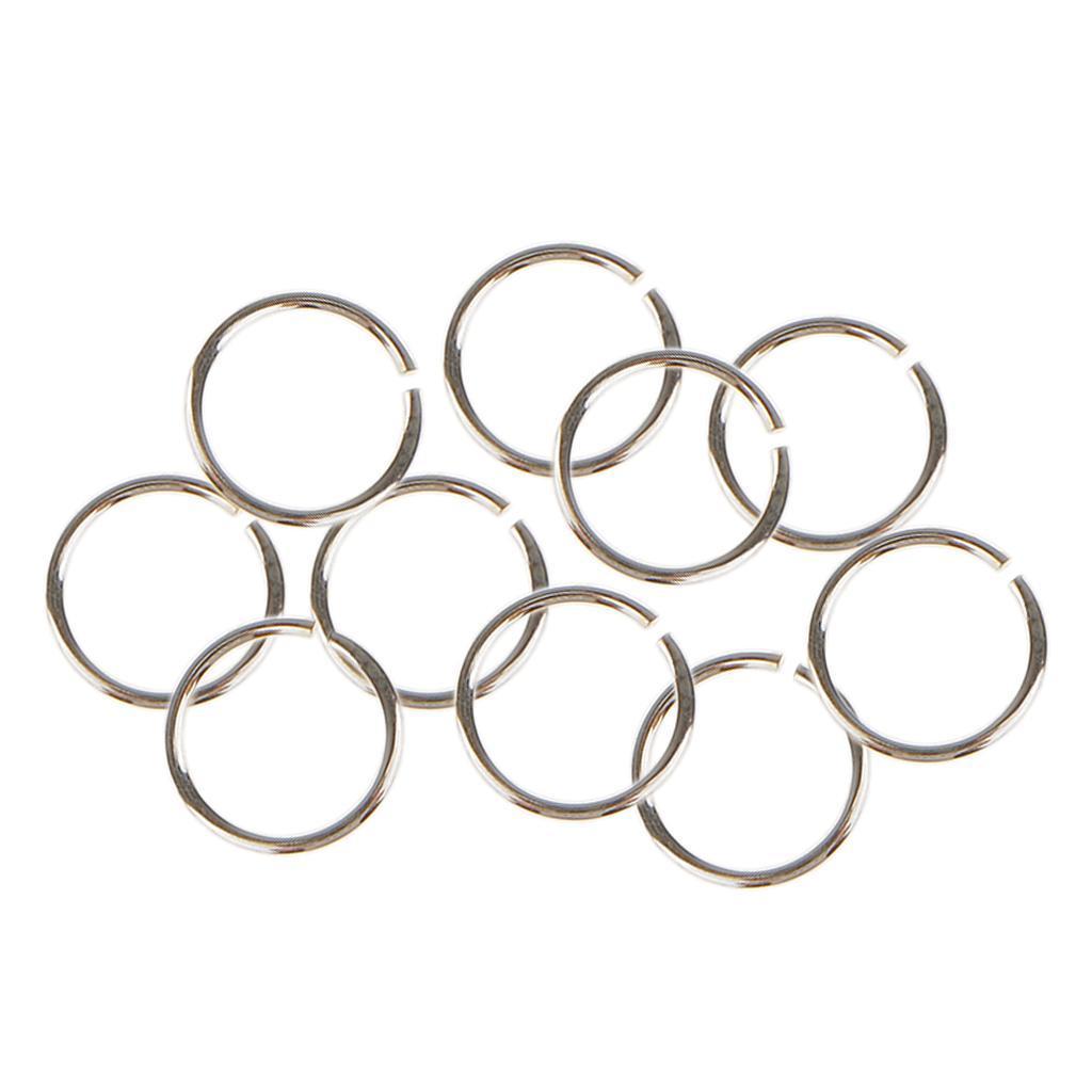 10x-anneaux-de-saut-pour-bijoux-3-4-5-6mm-ouvert-fendu-fermoir-connecteur-925-ar miniature 23