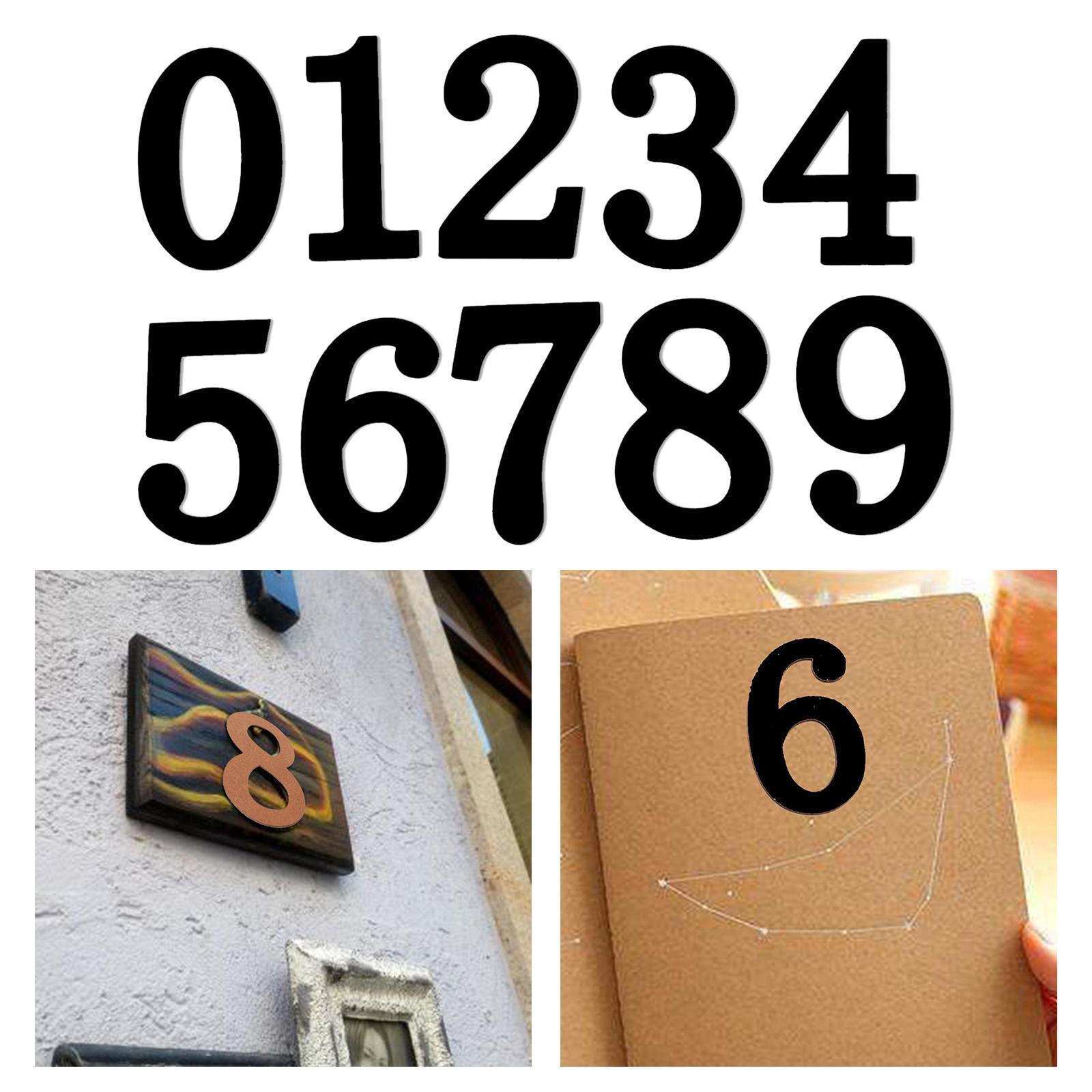 Indexbild 6 - 10-pcs-holz-nummern-nummer-0-bis-9-klebstoff-ziffern-holz-dekoration-handwerk