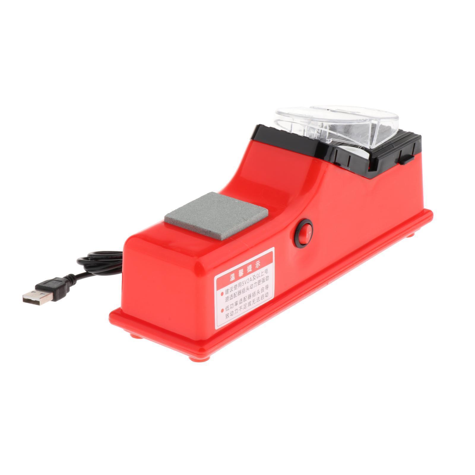 miniatura 4 - Professionale Elettrico Coltello Scissor Sharpener Smerigliatrice Lame