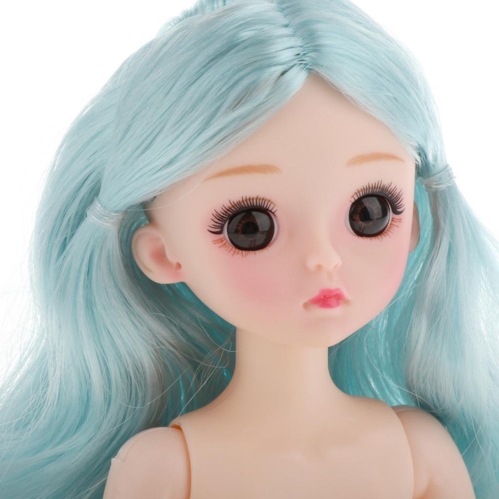 1-6-BJD-Doll-Body-3D-Big-Eyes-White-Skin-Girl-Dolls-Kids-Toys-DIY-Parts thumbnail 37