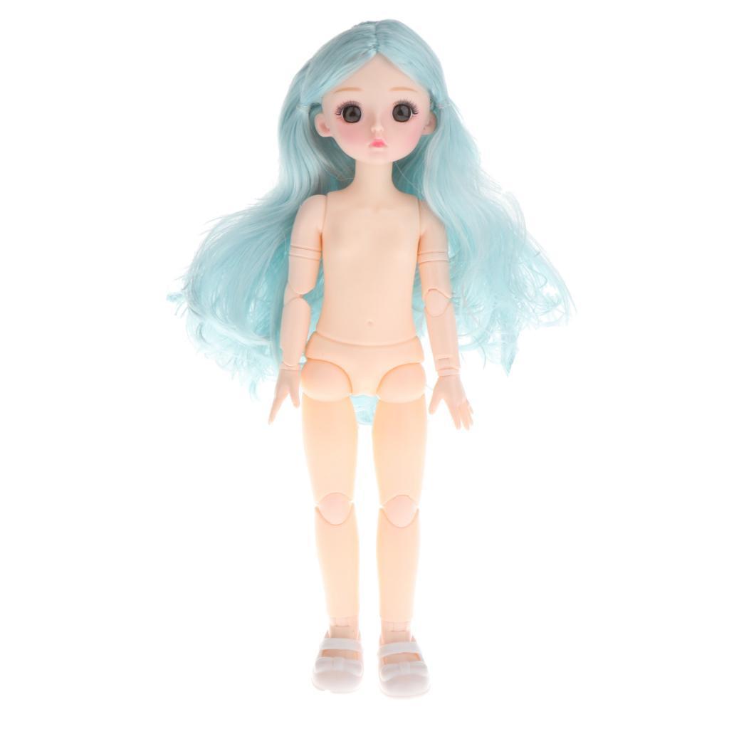 1-6-BJD-Doll-Body-3D-Big-Eyes-White-Skin-Girl-Dolls-Kids-Toys-DIY-Parts thumbnail 35