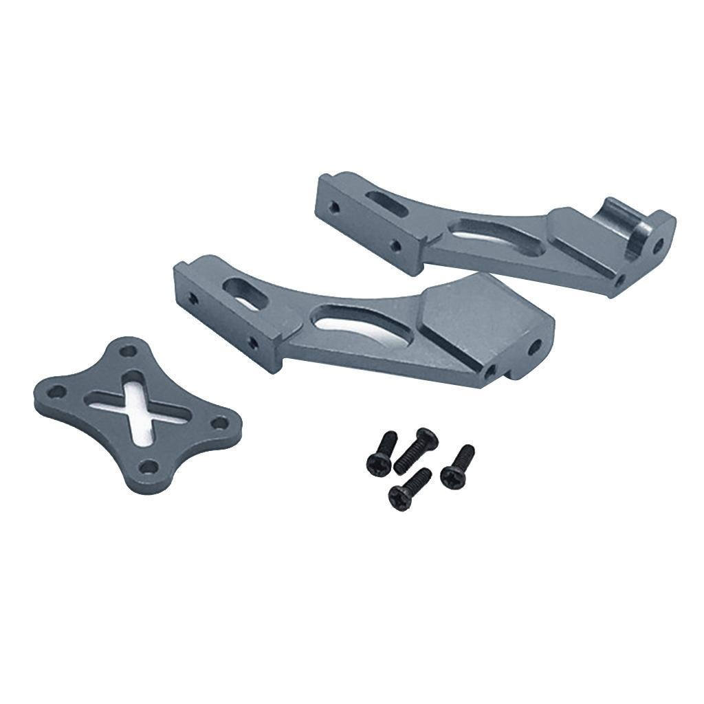 Set-di-parti-fisse-per-coda-in-metallo-per-auto-RC-per-WLTOYS-144001 miniatura 15