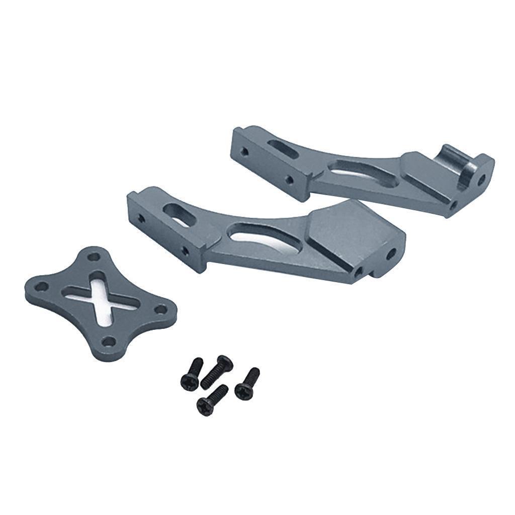 Set-di-parti-fisse-per-coda-in-metallo-per-auto-RC-per-WLTOYS-144001 miniatura 16