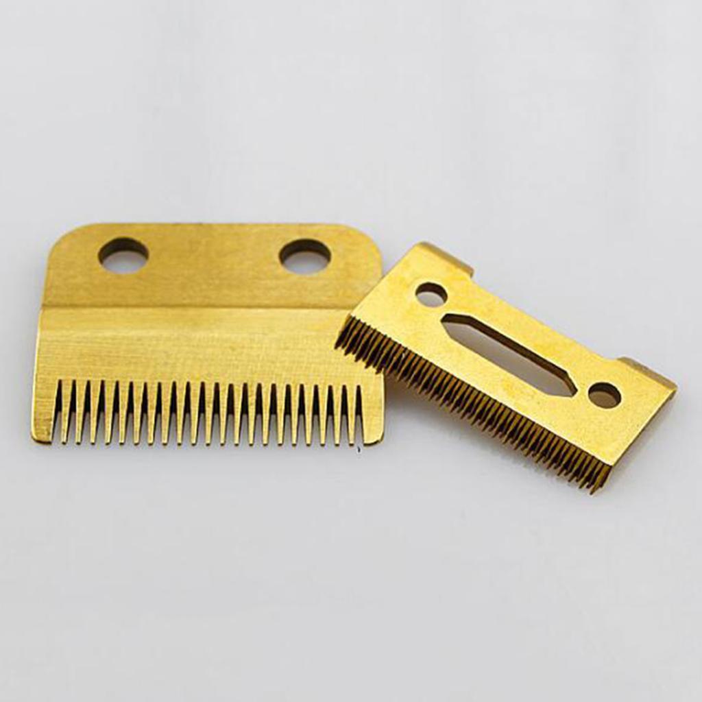 miniatura 4 - Lama per tagliacapelli da barba da 2 lotti antiruggine