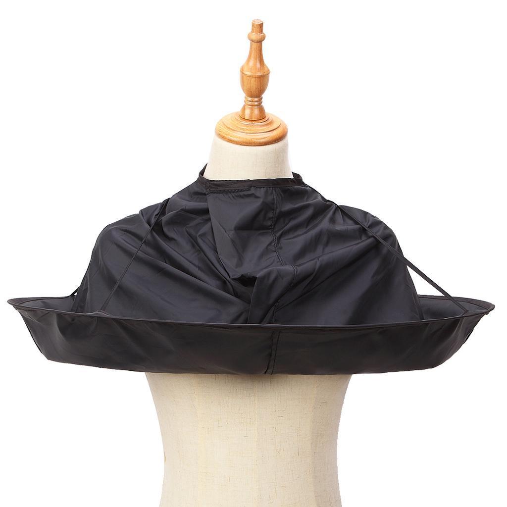 Coupe-de-cheveux-parapluie-Cape-coupe-de-cheveux-robe-coiffeur-salon-de-coiffure miniature 4
