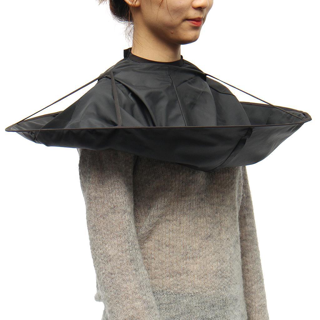 Coupe-de-cheveux-parapluie-Cape-coupe-de-cheveux-robe-coiffeur-salon-de-coiffure miniature 3