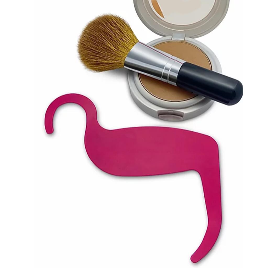 Eyebrow-Stencils-Cheek-Contouring-Shaper-Grooming-Makeup-Template-Reusable miniature 5