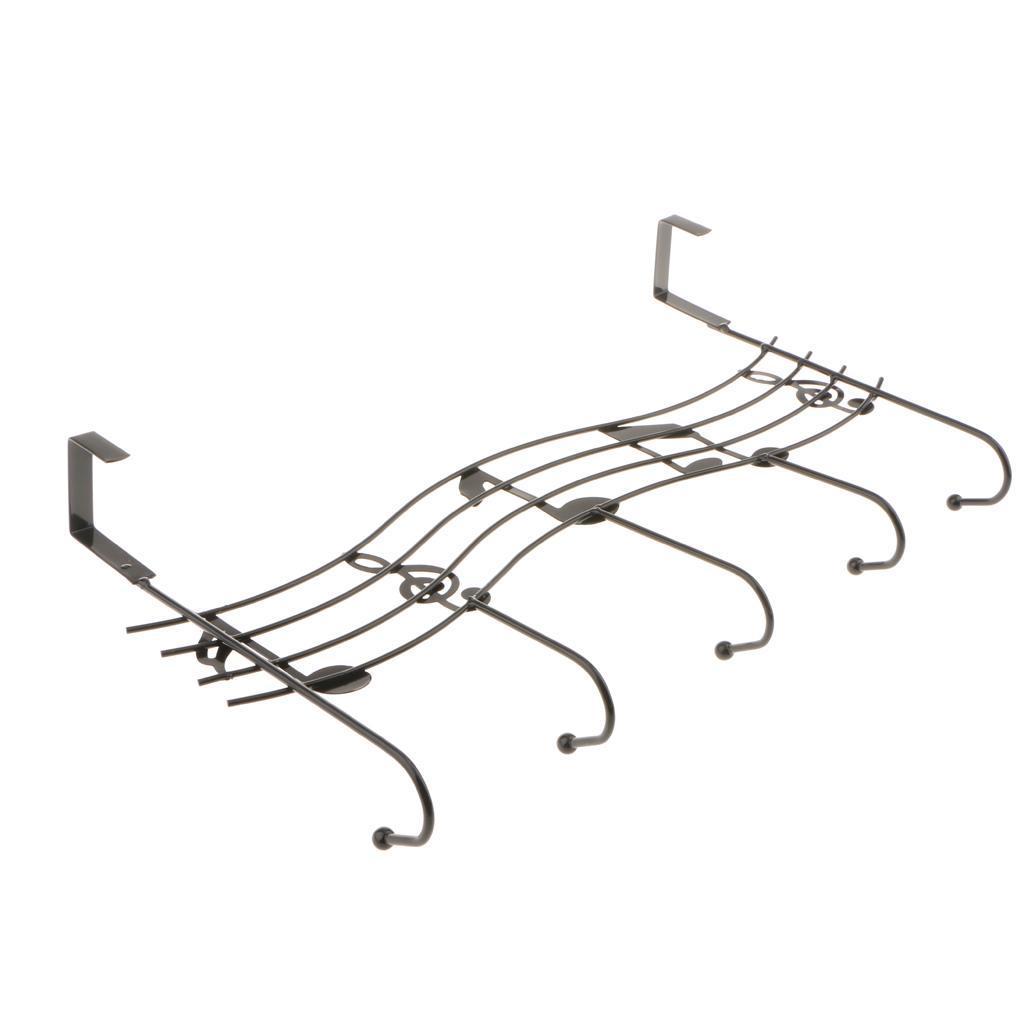 robusto-gancio-a-5-ganci-sopra-la-porta-gancio-gancio-lavanderia-organizer miniatura 3