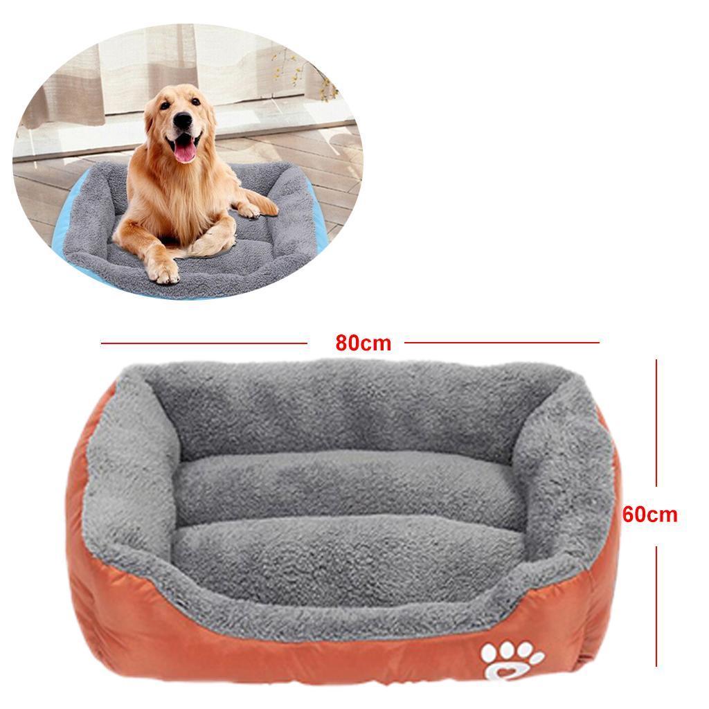 miniature 18 - Doux en peluche lit pour animaux de compagnie chien chat coussin de couchage