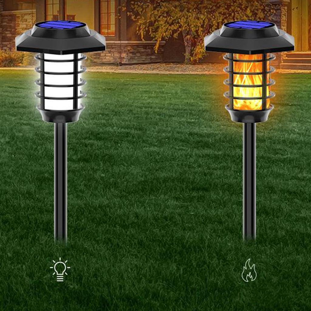 miniatura 6 - Lumieres-de-lampe-de-decor-de-flamme-de-danse-solaire-de-LED-pelouse