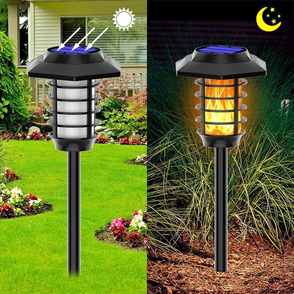 miniatura 7 - Lumieres-de-lampe-de-decor-de-flamme-de-danse-solaire-de-LED-pelouse