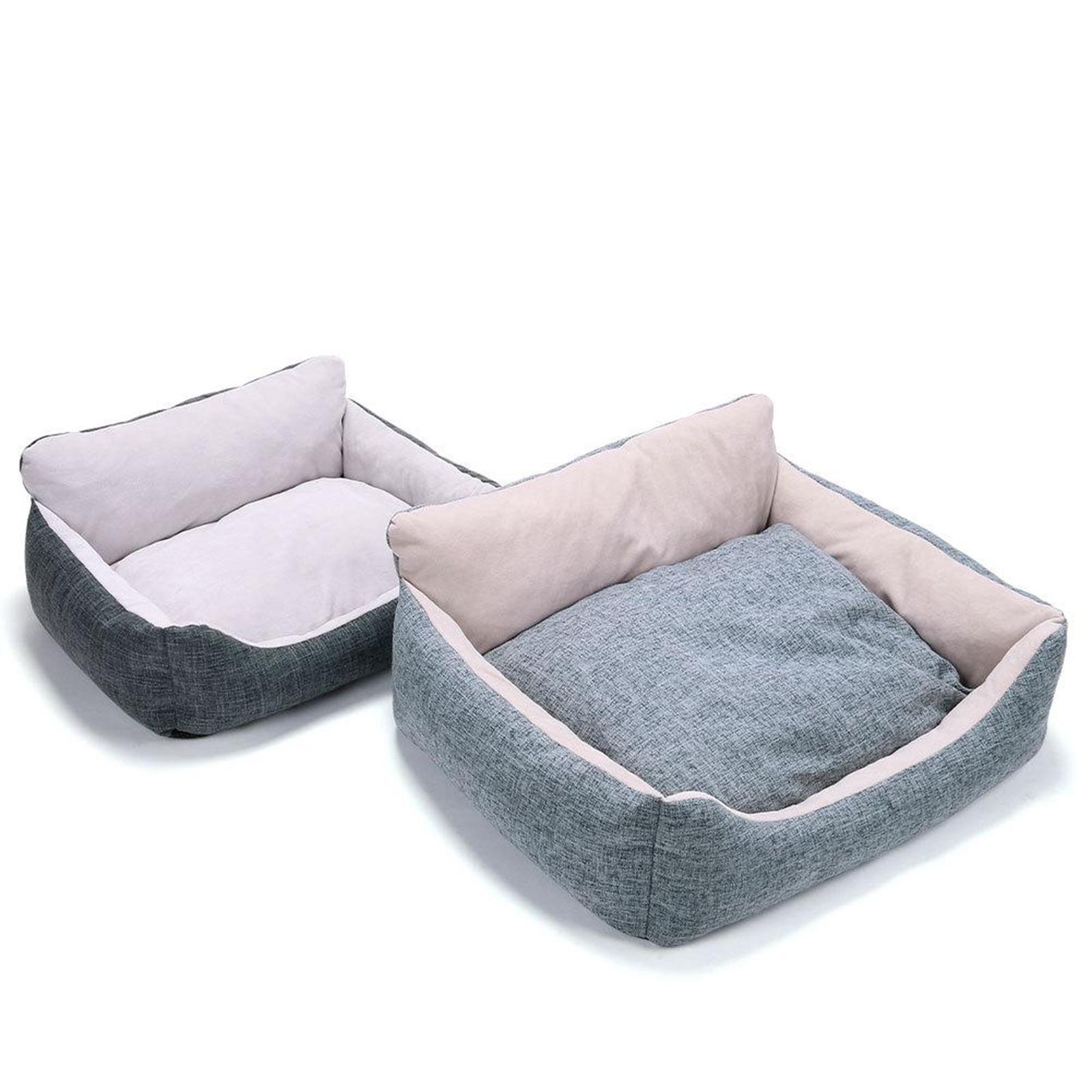 miniature 21 - Chien pour animaux de compagnie, lit de chat doux et lit en peluche chennel