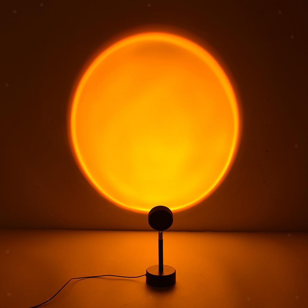 LED Projector Atmosphere Light Sun Sunset Rainbow ...