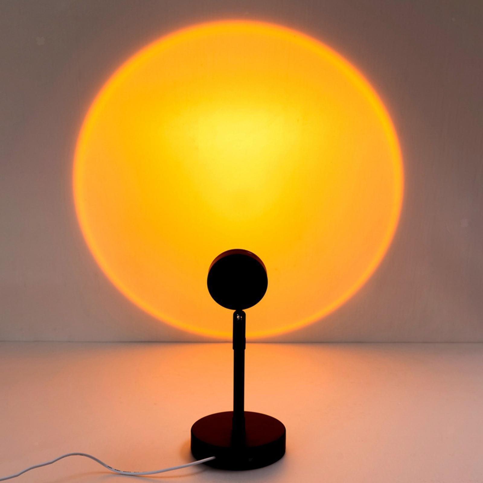 Sun Sunset Rainbow Projector Atmosphere Night Light Lamp ...