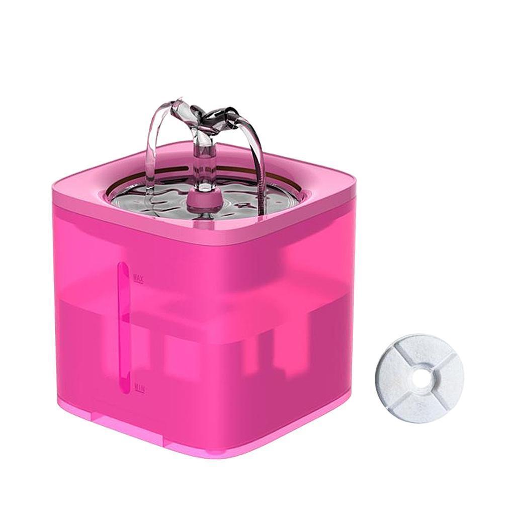 miniature 28 - 2L Chat Électrique Automatique Fontaine D'eau Potable Distributeur Bol USB