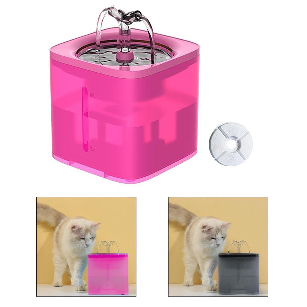 miniature 33 - 2L Chat Électrique Automatique Fontaine D'eau Potable Distributeur Bol USB