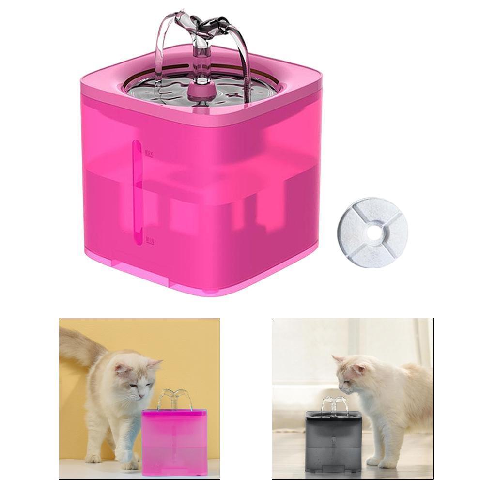 miniature 27 - 2L Chat Électrique Automatique Fontaine D'eau Potable Distributeur Bol USB