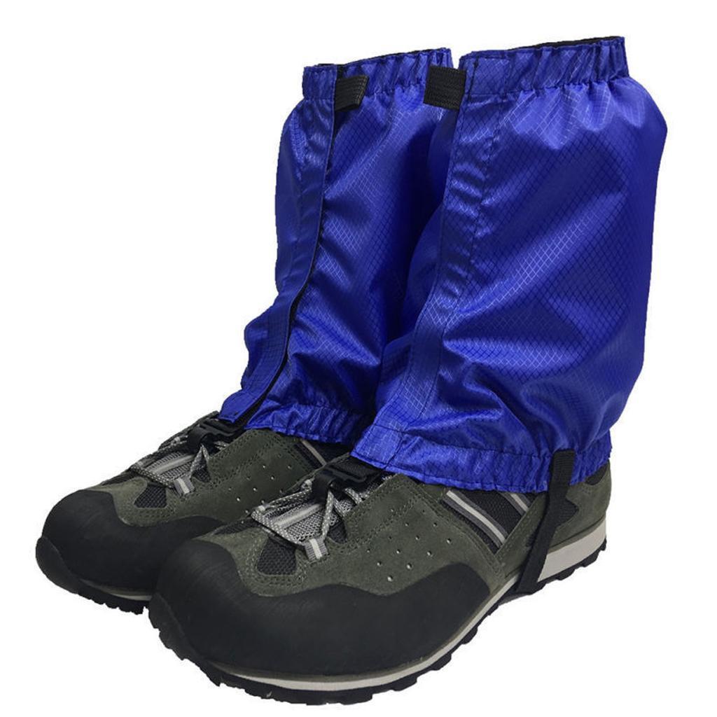4 pcs//Pack Durable Walking Leg Gaiters Waterproof Outdoor Walking Climbing