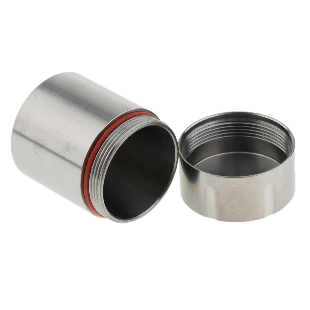 Titanium-Survival-Waterproof-Capsule-Pill-Case-Box-Tablets-Storage-Container thumbnail 12