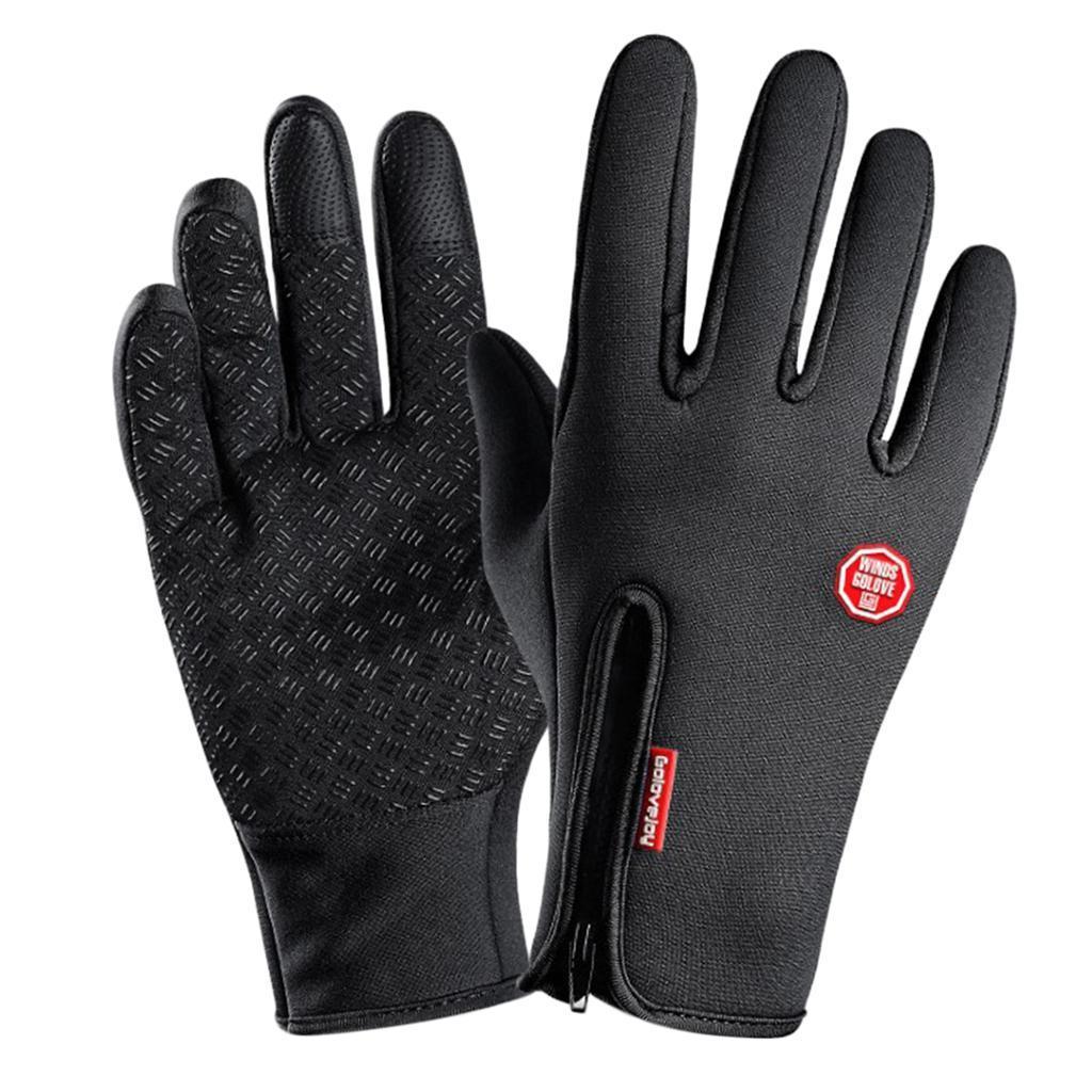 Hiver-chaud-plein-doigts-doigts-ecran-tactile-gants-d-039-entrainement-velo miniature 6