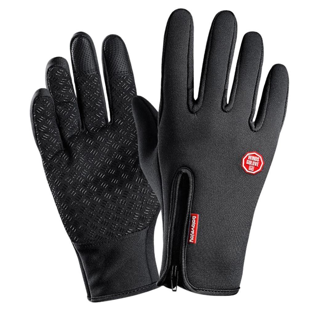 Hiver-chaud-plein-doigts-doigts-ecran-tactile-gants-d-039-entrainement-velo miniature 7