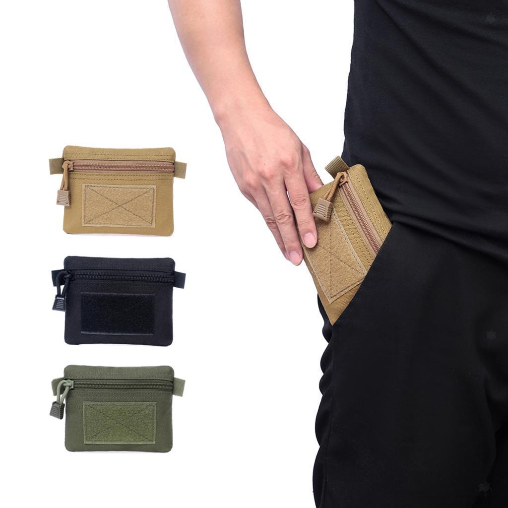 Tactical-Money-Wallet-Change-Purse-Small-Key-Pouch-Accessory-Bag-Gadget-Gear thumbnail 18