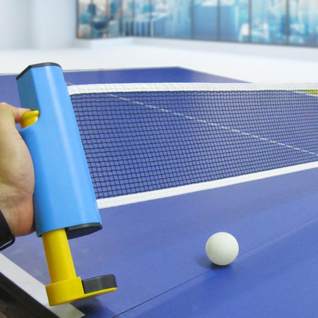 miniature 10 - Einziehbares table tennisnetz Mesh Portable Table tennisnetz Rack Easy Extend