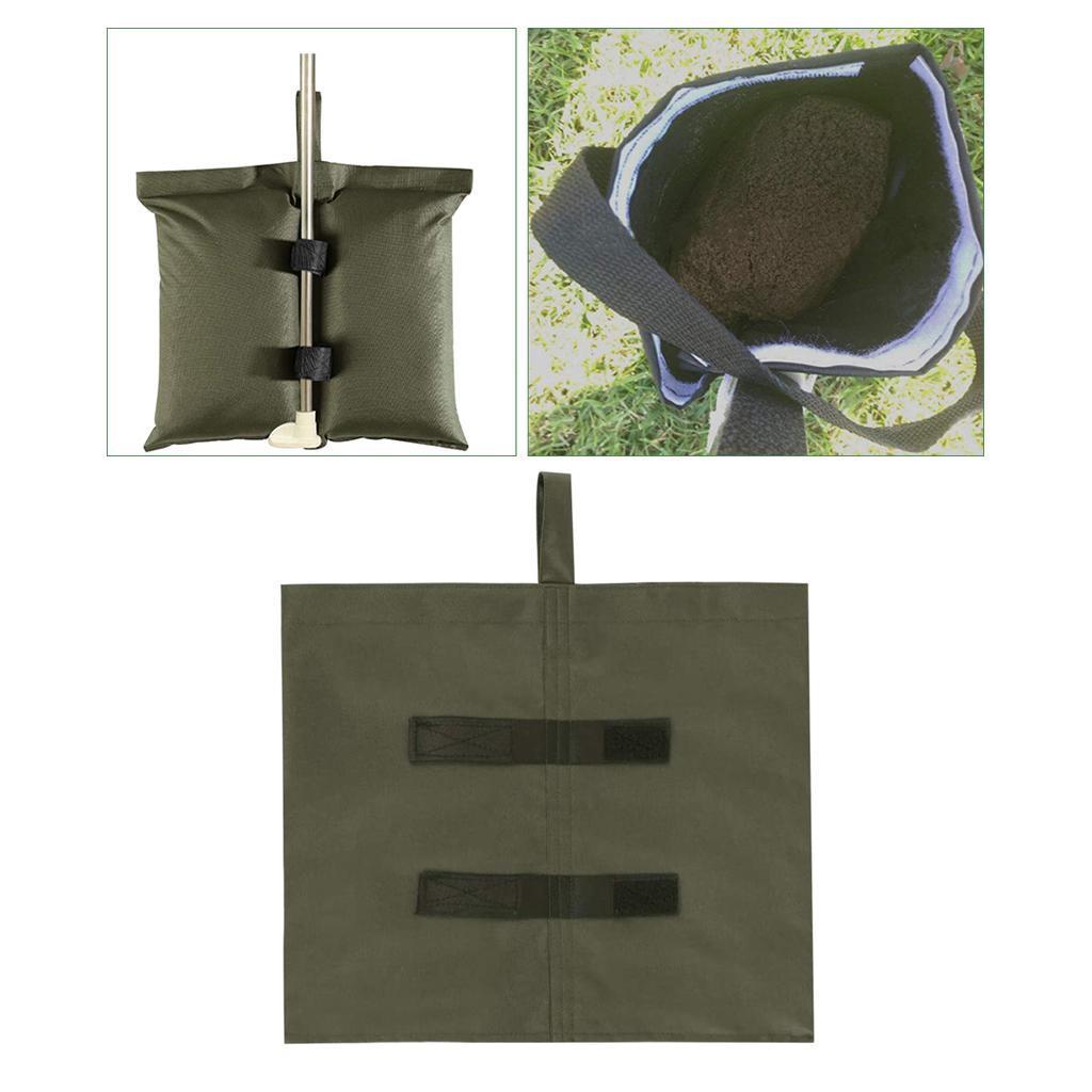 Im-freien-Wasserdichte-Gewicht-Sand-Tasche-fuer-Strand-Pavillon-Baldachin-Zelt Indexbild 17