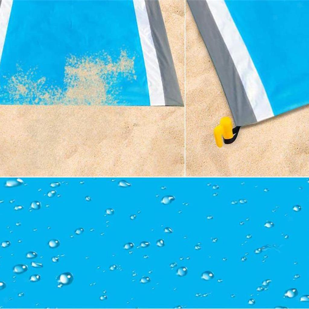 miniatura 8 - Impermeabile Coperta di Picnic di Campeggio Esterna Stuoia Stuoia Della Spiaggia
