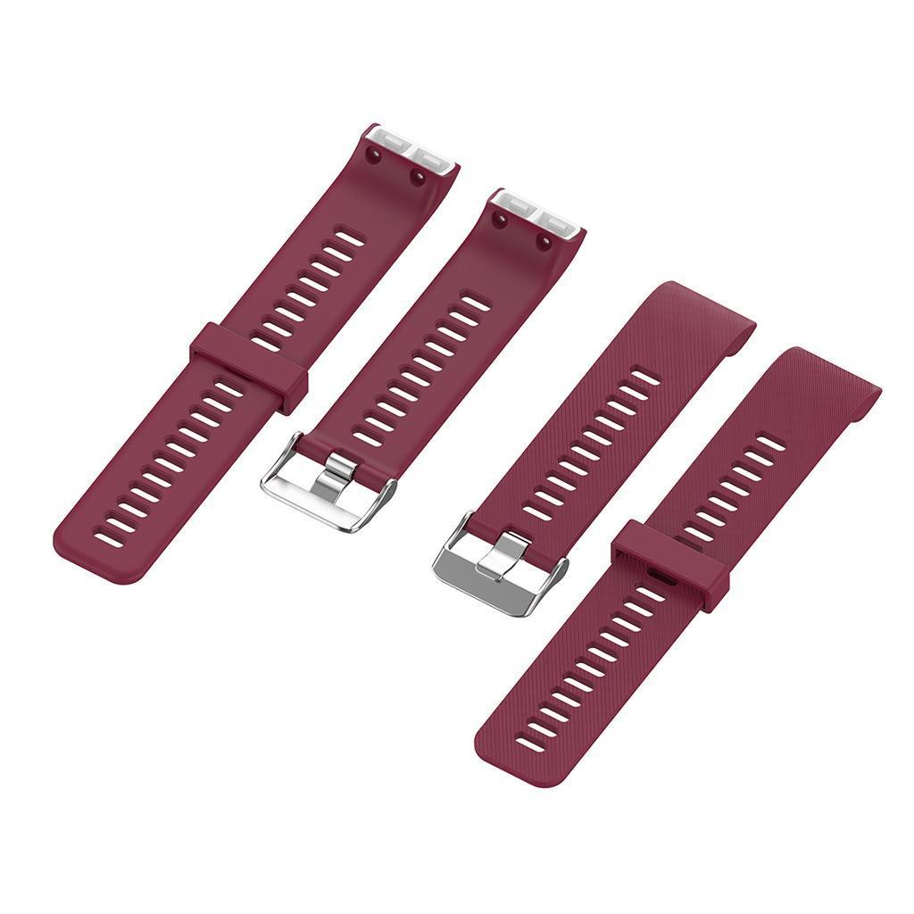 Unisex-Samrt-Watch-Strap-Bracelet-Silicone-Rubber-Band-for-Garmin-Forerunner thumbnail 18