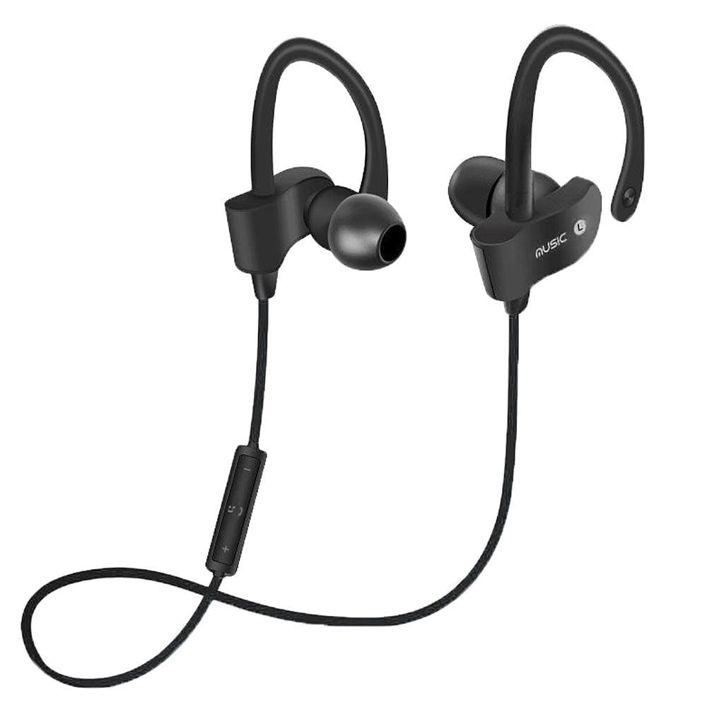 Cuffie-Senza-Fili-Bluetooth-Auricolari-Sportivi-Stereo-HiFi-Con-Microfono miniatura 4