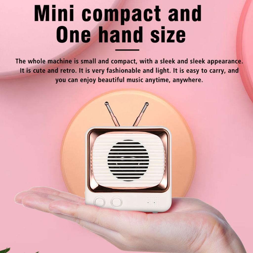 Retro-FM-Radio-Vintage-Bluetooth-Speaker-900mAh-Battery-Capacity-with-Best-Sound thumbnail 4