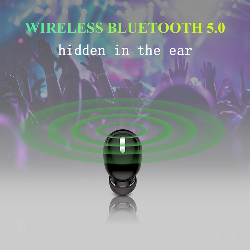 X9-Auricolari-Bluetooth-5-0-Auricolare-Senza-Fili-Mini-Stereo-Cuffie-Auricolari miniatura 12