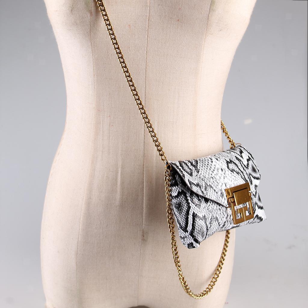 Damen-Lederguertel-Fanny-Pack-Mit-Abnehmbarer-Guerteltasche-Mode-Guerteltaschen Indexbild 9