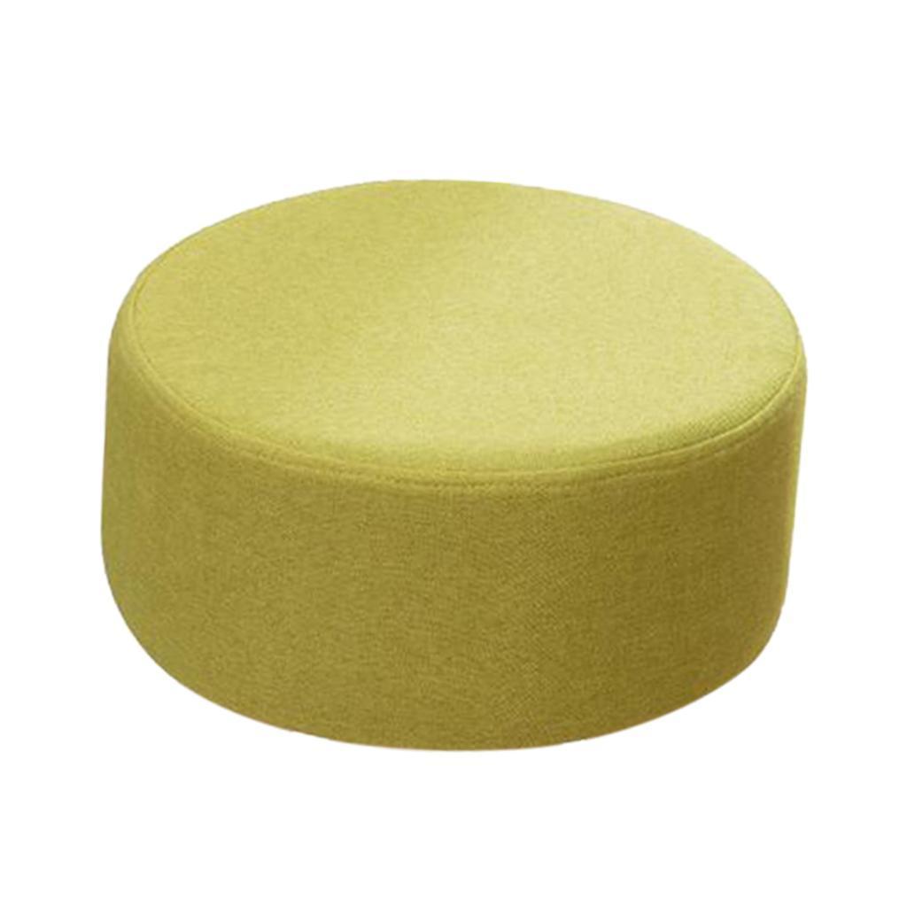 miniatura 22 - Cuscino-Pad-per-Sgabello-da-Bar-Fodera-Coprisedia-Rotonda-in-Tela-di-Cotone