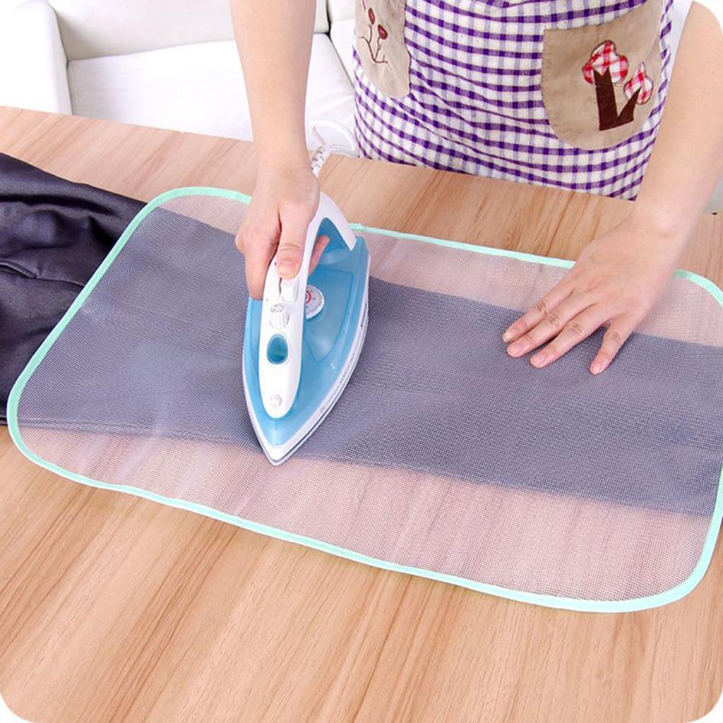 miniatura 3 - 2 pezzi copertura dell'asse da stiro protettiva pressa protezione del panno da