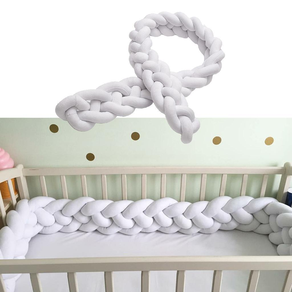 Handcrafted Deformable Infants Crib Protector Bumper 1.5m Mamis Baby Bed