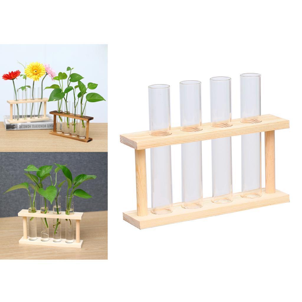 Indexbild 4 - Kristallglas Reagenzglas Pflanze Terrarium Vase Blumentöpfe für