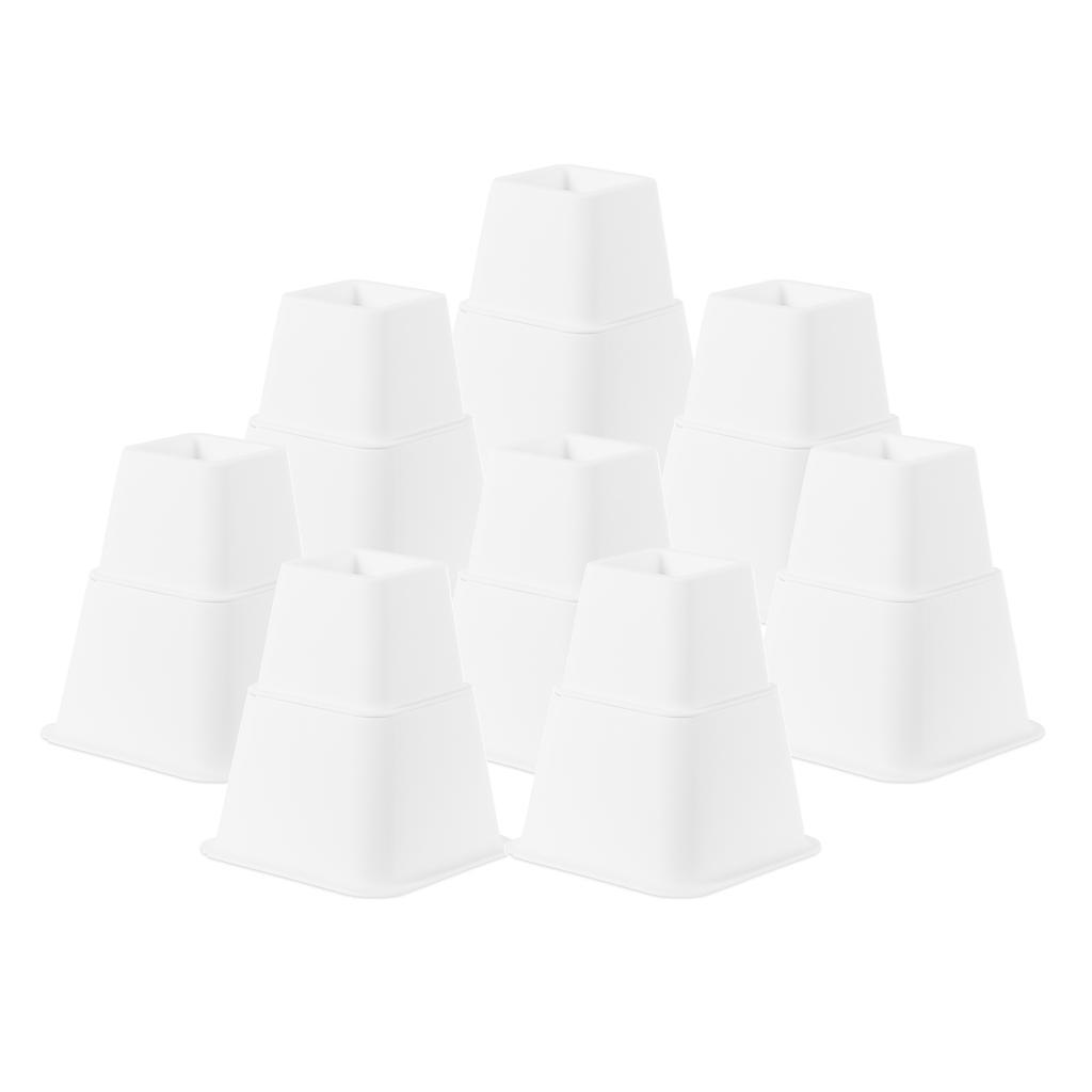 Alzate-per-mobili-Set-da-4-pezzi-Tavolino-regolabile-per-sedia-Alzata-Utopia miniatura 8